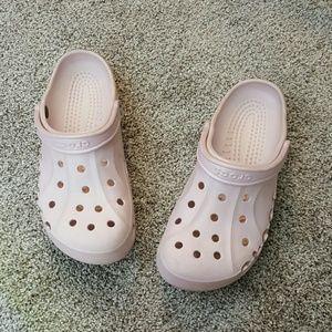 Crocs pink colors shoes size 9M11W